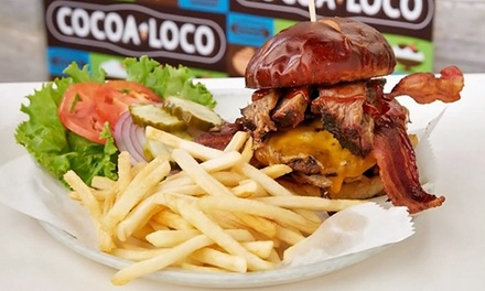 Meal for Two or Four at Cocoa Loco (Up to 49% Off)