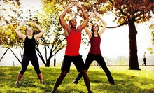$49 for One Month of Unlimited Fitness Boot-Camp Classes at JustFit ($250 Value)