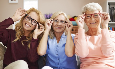 $49 for an Eye Exam and $125 Toward Prescription Glasses ($210 Value)