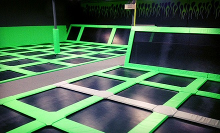 $12 for Two One-Hour Jump Passes at Elevate Trampoline Park ($24 Value)