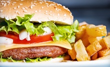 American Food at Blue Angus Cafe (Up to 58% Off). Four Options Available.