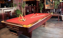 $15 for $30 Worth of Billiards at Jillian's