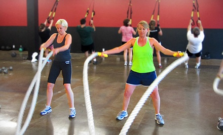 Six Weeks of Unlimited Outdoor or Indoor-and-Outdoor Boot Camp from Synergy Fitness Boot Camp (Up to 88% Off)