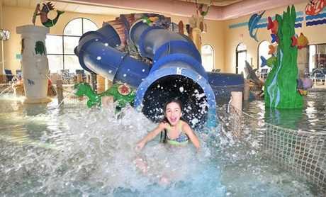 One-Night Stay at Atlantis Waterpark Hotel in Wisconsin Dells