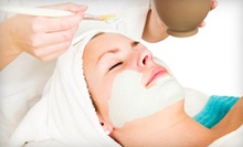 One or Two 60-Minute Galvanic or Custom-Blended Facials at The Skin Spot (Up to 55% Off)