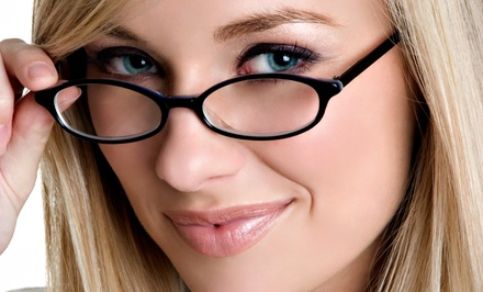 Prescription Glasses or Sunglasses at The Vision Shoppe (Up to 61% Off)