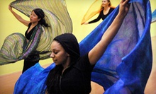 Five or Eight Beginning Bellydance Classes at DanceGardenLA (Up to 61% Off)