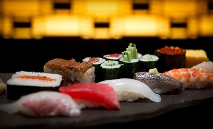 $20 for $40 Worth of Sushi and Japanese Cuisine for Dinner at House of Tokyo