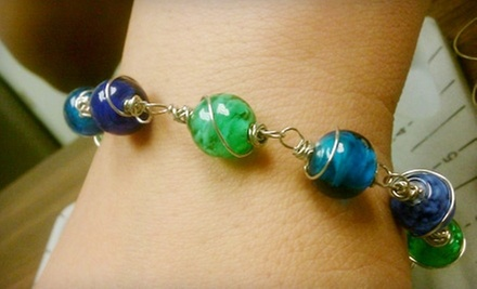Jewelry-Making Class for One or Bead Party for Six at The Colorado Bead Company (Up to 58% Off)