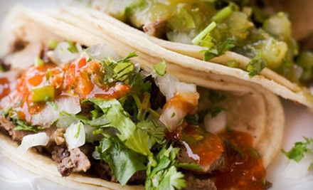 $7 for $14 Worth of Tex-Mex at Lunch or Dinner Tango's Taco Shop