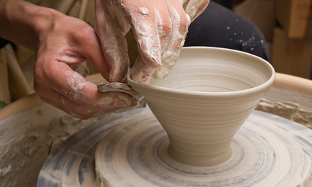 Two-Part Pottery Class for One or Two at Wheel Works Art Studio (Up to 59% Off)