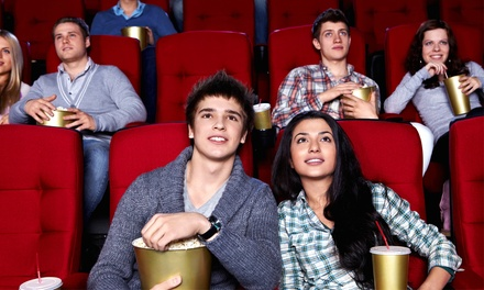 Movie Night for Two or Four with Soda and Snacks at Venture Cinema (Up to 51% Off)
