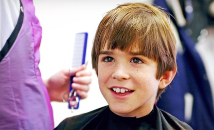 One or Three Children's Haircuts at Snips & Clips 4 Kids (53% Off)