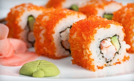 Japanese Dinner or Lunch at Blue Fin Sushi Bar &amp; Restaurant (Half Off)