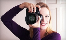 Three-Hour DSLR Photography 101, 201, or Both Workshops from The Visual School of Photography (Up to 65% Off)