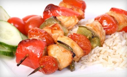 $15 for $30 Worth of Lebanese Cuisine for Dinner at Shoufs Cafe