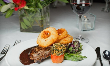 $20 for $40 Worth of Upscale Steak and Seafood Dinner at Gordon's on the River