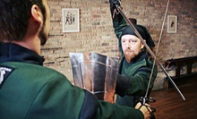 Four-Week FightingFit! Boot Camp or Six-Week Introductory Swordplay Course at Forteza Fitness (Up to 53% Off)