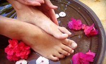 Pedicure with Hand Treatment or Chocolate Manicure with Pedicure at Hannah's Euro Spa (Up to 59% Off)