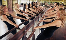 $99 for One Month of Unlimited Women's Barre Fitness Classes at Barre Cleveland ($225 Value)