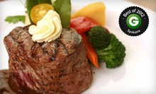 Upscale Family Dining at Prospectors Bar &amp; Grill (Half Off). Two Options Available.