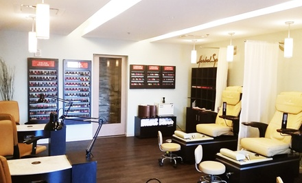 Spa Manicure with a Swedish Massage or Deep Pore Facial at Chronos Day Spa (45% Off)
