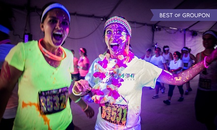 $27 for One Entry to The Neon Run 5K on Saturday, April 25, 2015 ($54 Value)