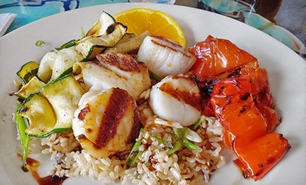 Seafood for Brunch, Lunch, or Dinner at Luke Wholeys Wild Alaskan Grille (Half Off). Five Options Available.