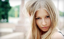 One or Two Keratin Hair-Straightening Treatments at Voir Salon & Spa (Up to 75% Off)