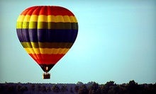 $315 for a Hot-Air-Balloon Flight with a Traditional Toast for Two from Balloon AD-Ventures ($590 Value)