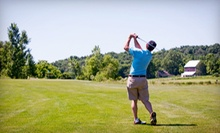 9 or 18 Holes of Golf for Two or Five 9-Hole Rounds for One at Argue-Ment Golf Course (Up to 52% Off)