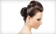 Haircut with Deep Conditioning, Color, Highlights, or Lowlights at Pampered Peacock Spa and Boutique (Up to 54% Off)