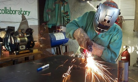$45 for a 60-Minute Welding Sculpture Class at The Collaboratory ($125 Value)