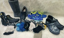 $20 for $40 Worth of Shoes, Socks, and Accessories at Shoe Prints