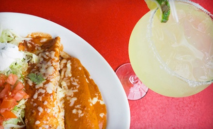 Mexican Meal with Drinks for Two or Four at El Patron Mexican Restaurant (Up to 51% Off)