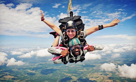 $136 for a Tandem Skydive with Instructor from Skydive Carolina! (Up to $220 Value)