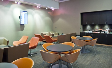 One-Day Airport VIP Lounge Access for One or Two from The Club at LAS (Up to 54% Off)