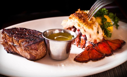 $20 for $40 Worth of Seafood and Steaks at Ed&#x27;s Hometown Seafood and Steaks