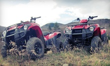 60- or 90-Minute Guided ATV Tour for Two from DirtVentures ATV Rentals (Half Off)