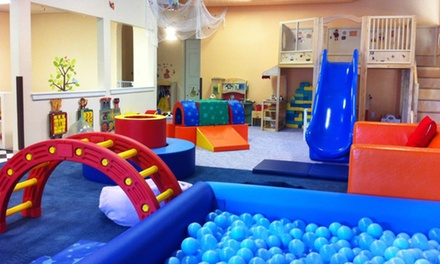 Two All-Day Indoor-Playground Passes at HappyNest Play Centers (Up to 50% Off)