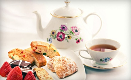 High Tea for Two, Four, or Six at Eddison &amp; Melrose (Up to 55% Off)