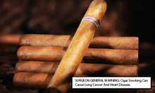 Housemade Cigars and Wine or Beer for Two or Four at Art of Cigars (Up to 51% Off)