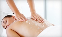 Body Scrub with Honey Face Massage at The African Violet (52% Off)