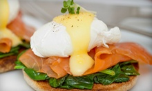 American Bistro Brunch for Two or Four with Unlimited Mimosas at Cafe Biere (Half Off)