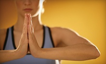 $39 for One Month of Unlimited Hot Yoga Classes at Divine Power Yoga (Up to $135 Value)