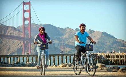 Bike Rental and Tours for Two or Four from Bay City Bike (Half Off)