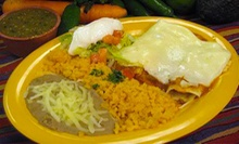 $10 for $20 Worth of Mexican Cuisine at Fajitas Mexican Restaurant