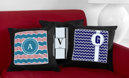 Personalized Monogrammed Throw Pillow