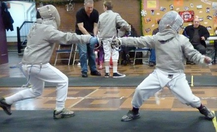Four Fencing Classes for One or Two at Lincoln Square Fencing (68% Off)