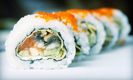 $20 for $40 Worth of Japanese Food and Sushi at Cafe Doma Sushi Restaurant